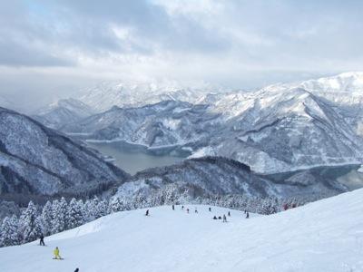 瀬女(せな)高原スキー場1